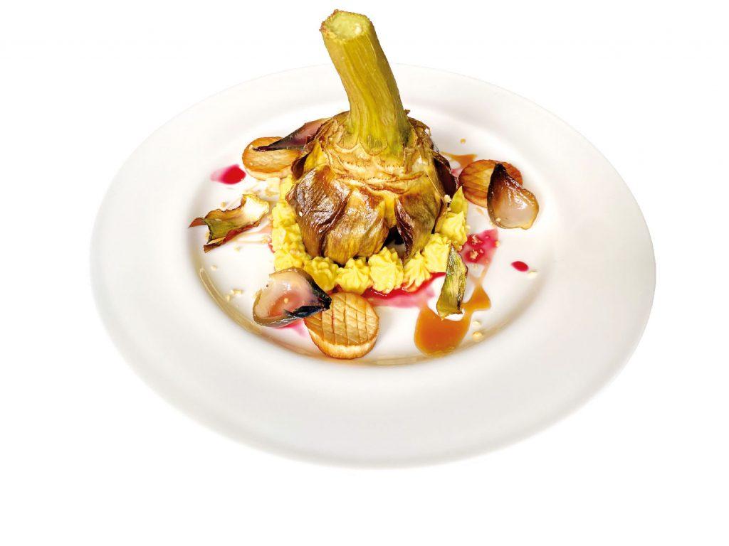 Un piatto di Edoardo Valsecchi