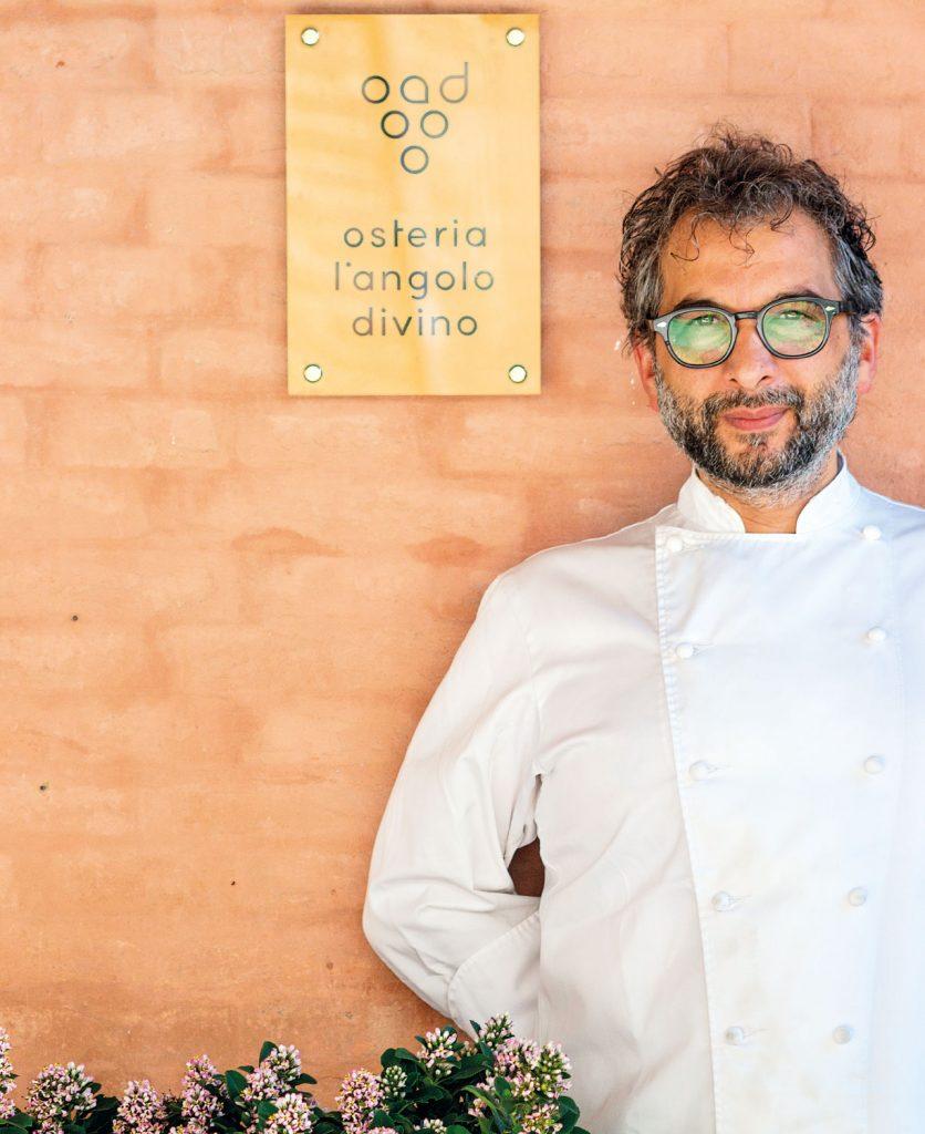 Chef Tiziano Rossetti