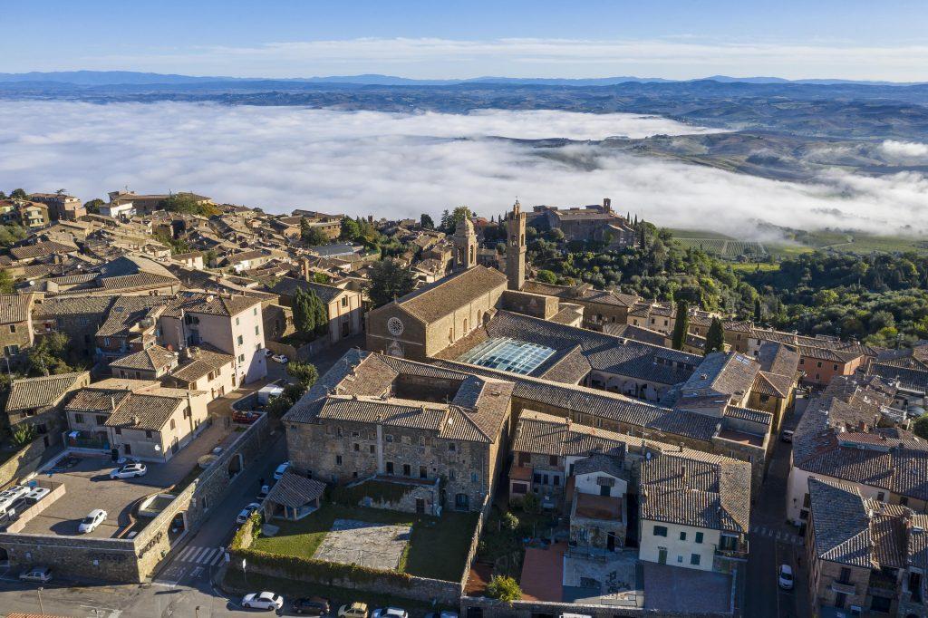Complesso St. Agostino veduta aerea