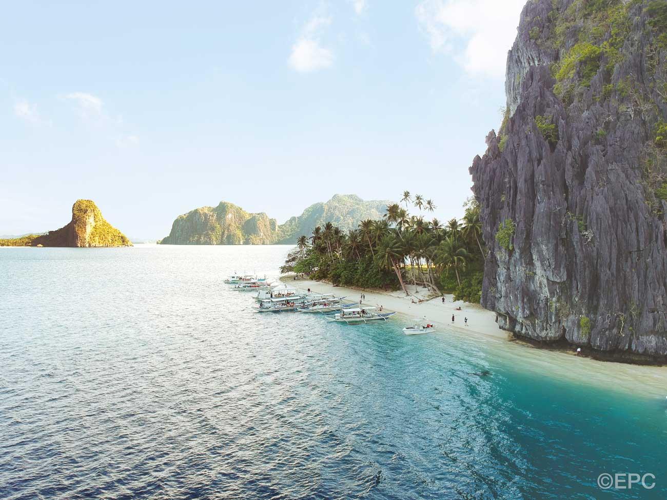 Mare e spiaggia alle Filippine