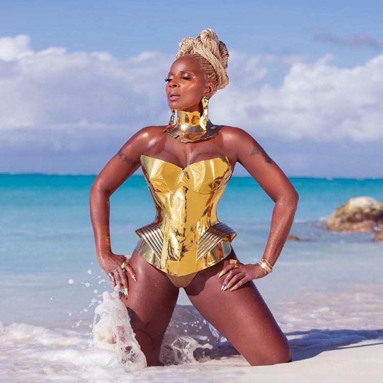 Mary J Blige per Fantinel
