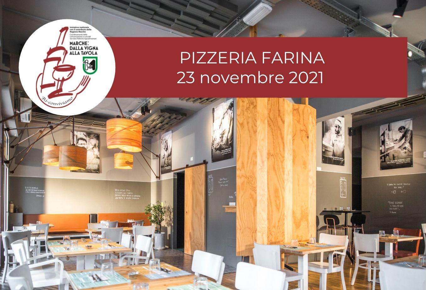 Degustazione marchigiana al Ristorante-Pizzeria Farina di Pesaro