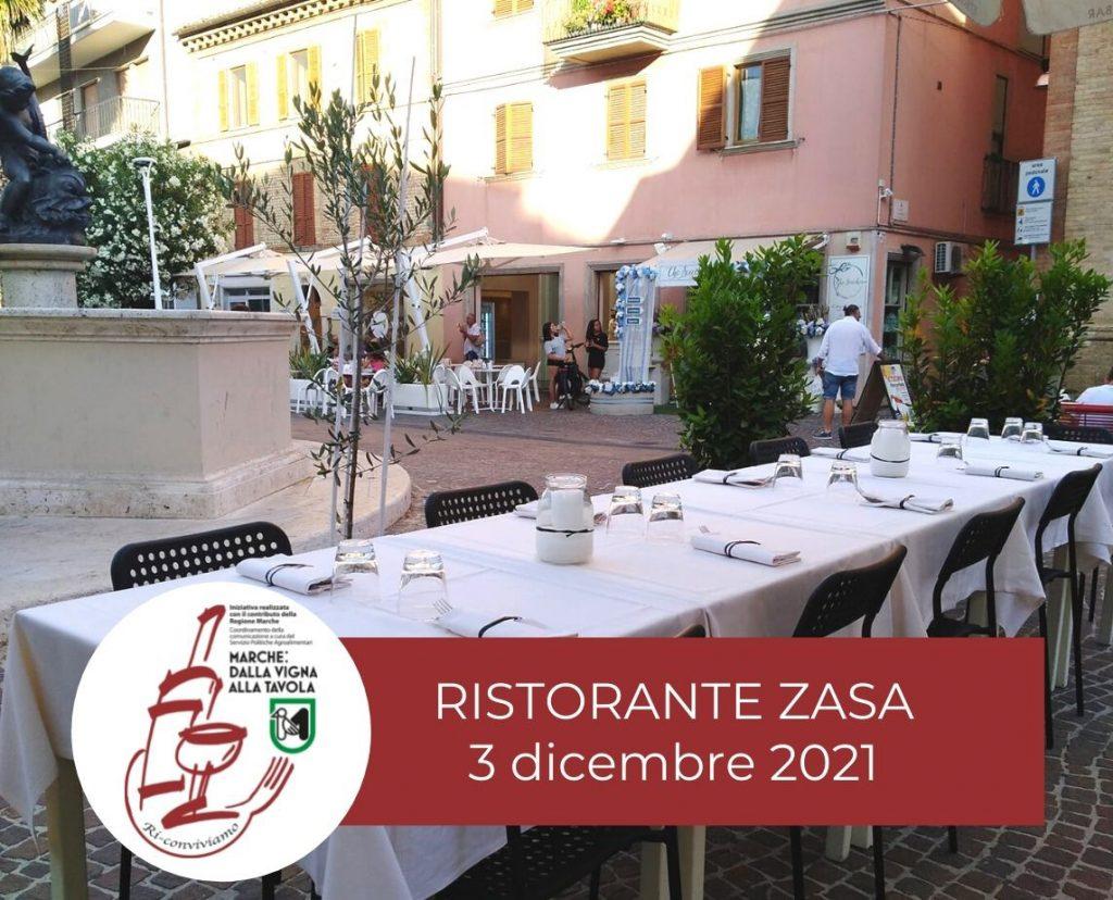 Serata di degustazione al Ristorante Zasa di San Benedetto del Tronto